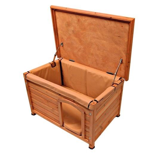 isolation amovible pour niche bois canada morin accessoires pour niches chiens en plastique. Black Bedroom Furniture Sets. Home Design Ideas
