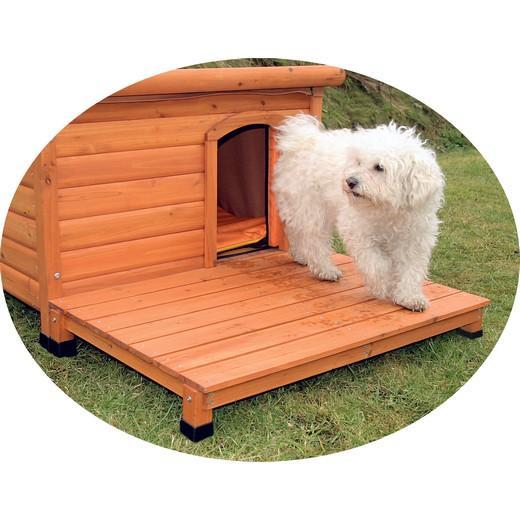terrasse pour niche bois canada morin accessoires pour niches pour chiens en plastique pvc. Black Bedroom Furniture Sets. Home Design Ideas