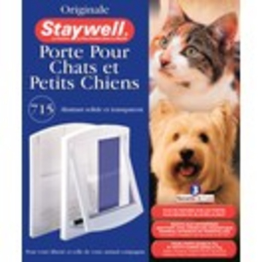 Porte pour chiens et chats original staywell trappe - Trappe pour chat ...