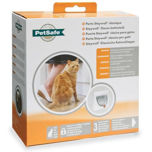 Porte verrouillage manuel staywell trappe chati re - Trappe de porte pour chien ...