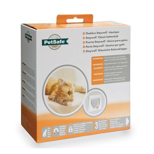 Porte verrouillage magn tique staywell trappe chati re et barri re de porte accessoire - Trappe de porte pour chien ...