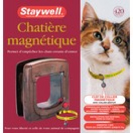Porte magn tique staywell trappe pour chat chati re et - Trappe pour chat ...