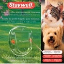 Porte ultra plate transparente - Staywell