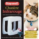 Chatière infra-rouge programmable - Staywell
