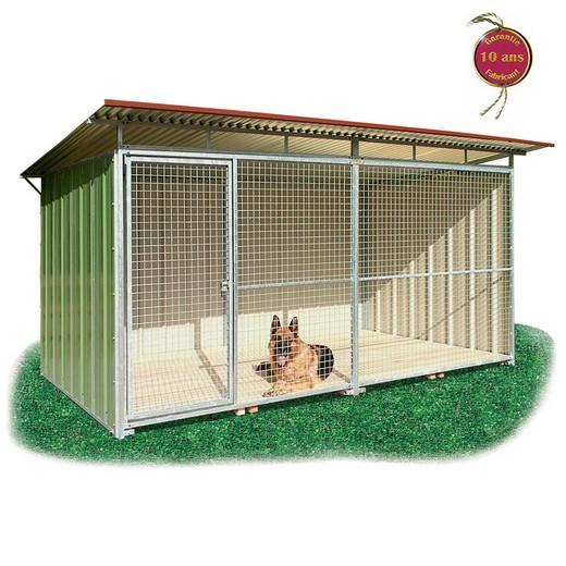 morin chiens chenils en kit pour chien tritoo. Black Bedroom Furniture Sets. Home Design Ideas