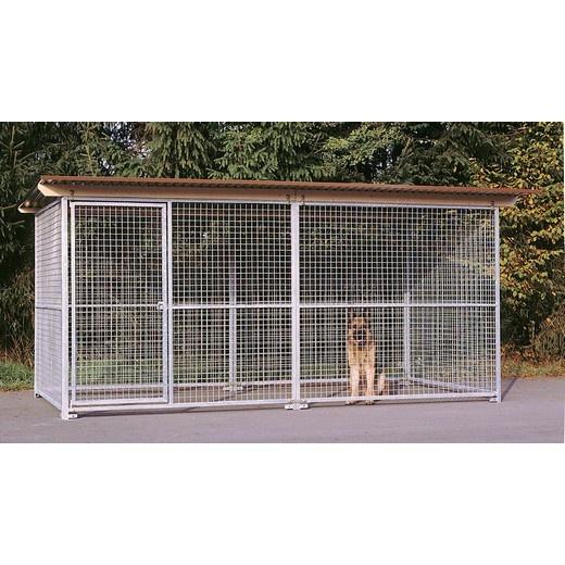 chenils en kit pour chien avec grillage parc chien morin fabricant distributeur de chenils. Black Bedroom Furniture Sets. Home Design Ideas