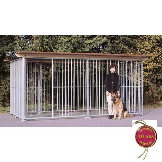 chenils en kit pour chien parc chien morin fabricant. Black Bedroom Furniture Sets. Home Design Ideas