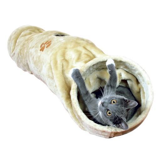 tunnel chat longueur 125 cm arbres chats et griffoir. Black Bedroom Furniture Sets. Home Design Ideas