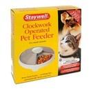 Distributeur automatique d'aliment pour chiens et chats