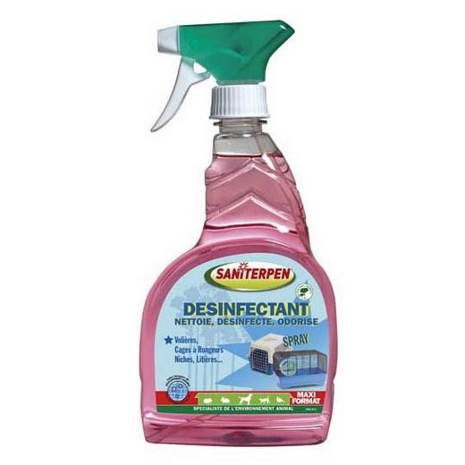 saniterpen d sinfectant spray pr t l emploi d sinfection et hygi ne des locaux chiens et. Black Bedroom Furniture Sets. Home Design Ideas