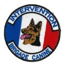 Ecusson Intervention - Brigade Canine
