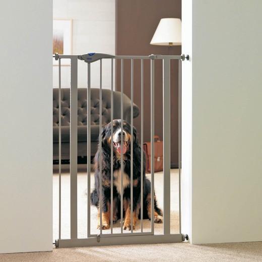 barri re de porte pour chien hauteur 107 cm trappe chati re et barri re de porte. Black Bedroom Furniture Sets. Home Design Ideas
