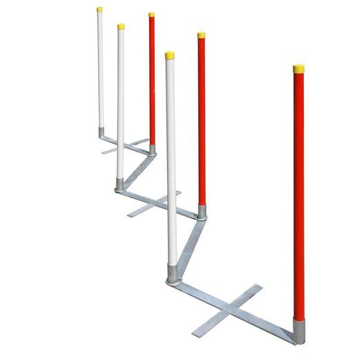 Slalom d'entrainement (sans poteau) - Agility System