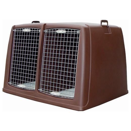 cage de transport argo pour chiens double morin. Black Bedroom Furniture Sets. Home Design Ideas