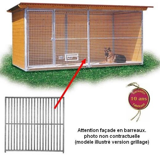 promotion chenil en kit confort pour chien version. Black Bedroom Furniture Sets. Home Design Ideas