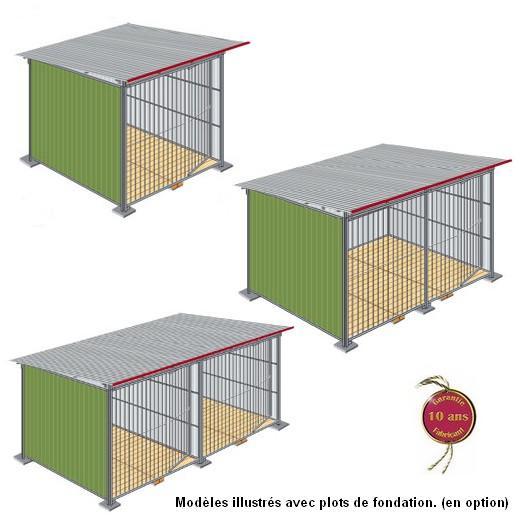 chenil en kit t l laqu enclos pour chien parc chien. Black Bedroom Furniture Sets. Home Design Ideas