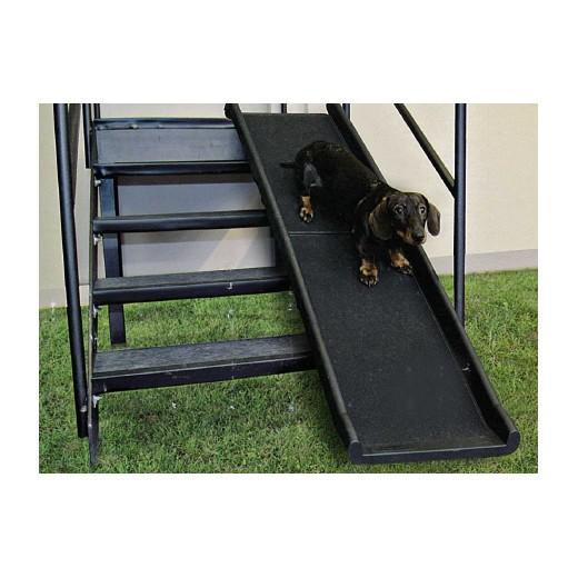 rampe d acc s pliante mod le plastique chien bless handicap levage et bandage morin. Black Bedroom Furniture Sets. Home Design Ideas