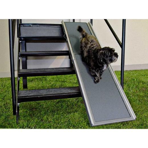 rampe d acc s pliante mod le aluminium chien bless handicap levage et bandage morin. Black Bedroom Furniture Sets. Home Design Ideas