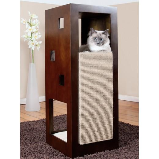 morin tour griffoir pour chat. Black Bedroom Furniture Sets. Home Design Ideas