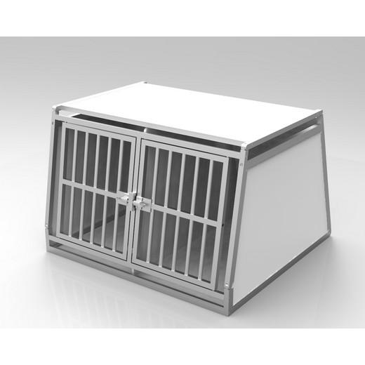 cage de transport pour chiens dogbox pro double caisses de transport morin accessoires pour. Black Bedroom Furniture Sets. Home Design Ideas
