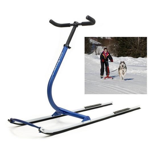 Luge patinette pour chiens de tra neau sport canin attelage canin ski joering cani cross - Fabriquer un harnais pour chien ...