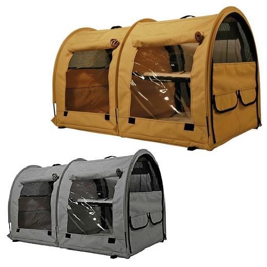 cage d exposition chats show shelter double gamme de. Black Bedroom Furniture Sets. Home Design Ideas