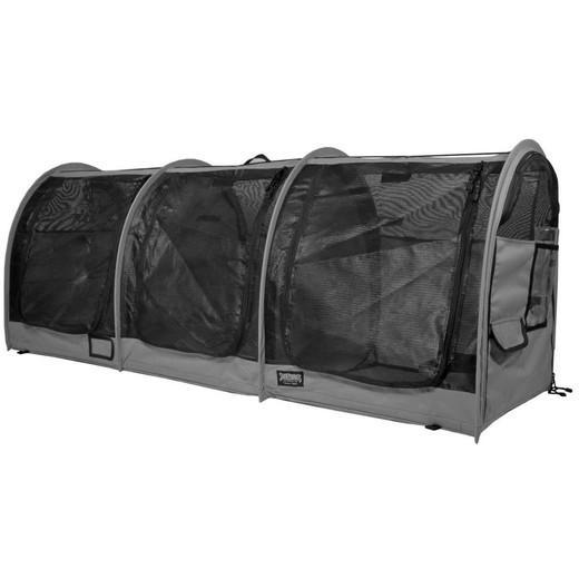cage d exposition chat show shelter triple gamme de caisses et cages d 39 exposition pour chats. Black Bedroom Furniture Sets. Home Design Ideas
