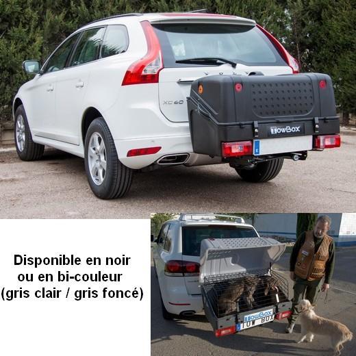 Towbox dog cage de transport sur attelage caisses de - Plan niche pour chat exterieur ...