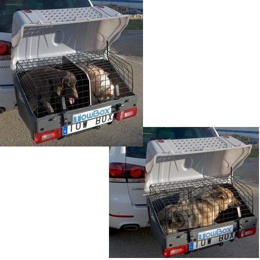 towbox dog cage de transport sur attelage caisses de. Black Bedroom Furniture Sets. Home Design Ideas