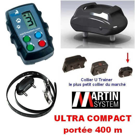 promotion Tiny Trainer TT400 avec collier U Trainer ultra compact