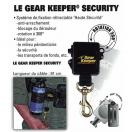 Gear keeper Security