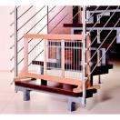 Barri�re de porte / escalier en bois - Hauteur 50 cm