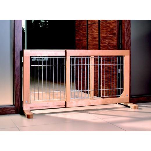 Barrière de porte / escalier en bois Hauteur 50 cm