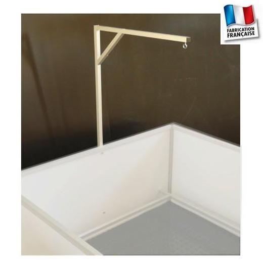 potence lampe chauffante pour bac de mise bas. Black Bedroom Furniture Sets. Home Design Ideas