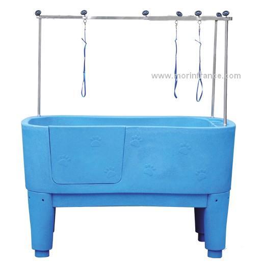 baignoire poly thyl ne sur pied accessoires de toilettage