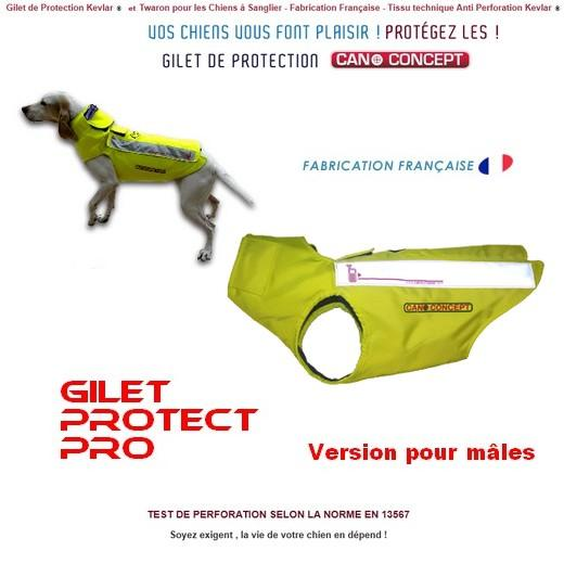 protect pro kevlar gilet de protection pour chien de chasse gilet harnais sport canin morin. Black Bedroom Furniture Sets. Home Design Ideas