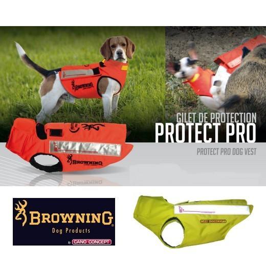 protect pro kevlar. gilet de protection pour chien de chasse