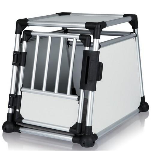 cage de transport alu autobox pour chiens caisses de. Black Bedroom Furniture Sets. Home Design Ideas