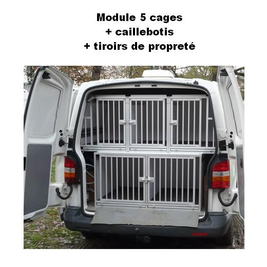 cage de transport dogbox pro module 5 cages pour chiens. Black Bedroom Furniture Sets. Home Design Ideas