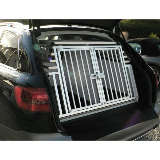 cage de transport dogbox pro double pour chiens mod le rehauss e caisses de transport pour. Black Bedroom Furniture Sets. Home Design Ideas