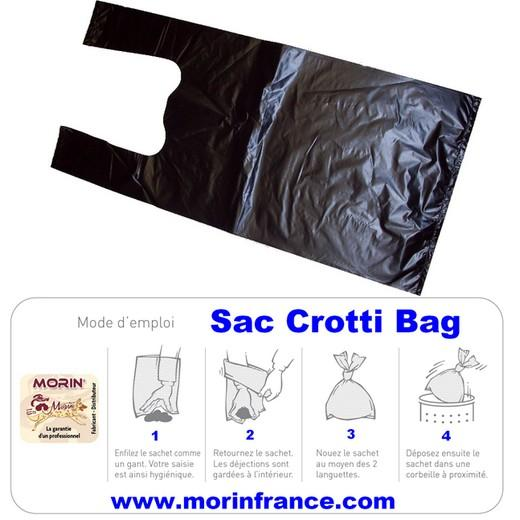 sachet ramasse crottes crotti bag d jections urine incontinence ramasse crottes chiens. Black Bedroom Furniture Sets. Home Design Ideas