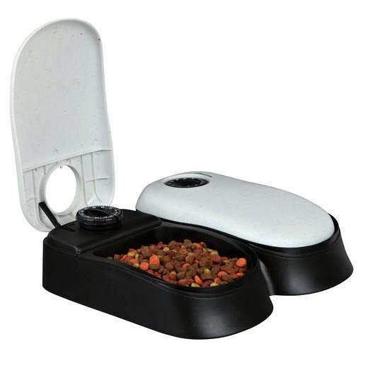 distributeur automatique de croquette 2 repas pour chien et chat morin france accessoires. Black Bedroom Furniture Sets. Home Design Ideas