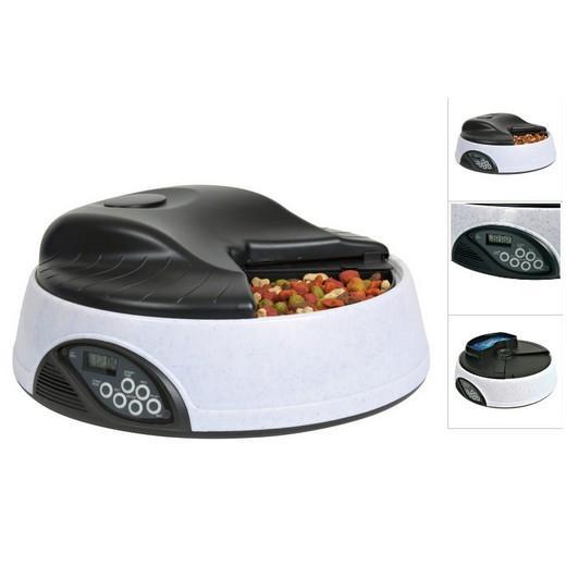 distributeur automatique de croquettes pour chien et chat. Black Bedroom Furniture Sets. Home Design Ideas