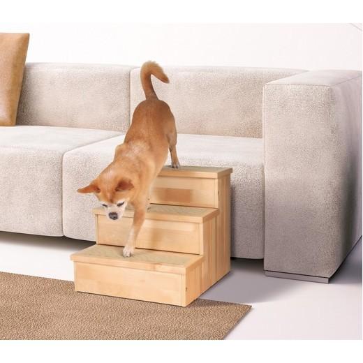 escalier bois pour chien et chat chien bless handicap levage et bandage morin soin et. Black Bedroom Furniture Sets. Home Design Ideas