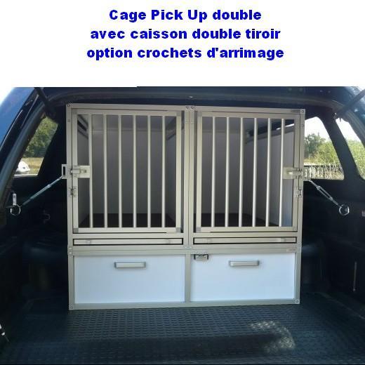 cage de transport dogbox pour chiens- aménagement de pick up