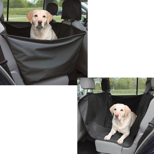 Housse de protection integrale pour banquette arri re for Housse protection coffre chien