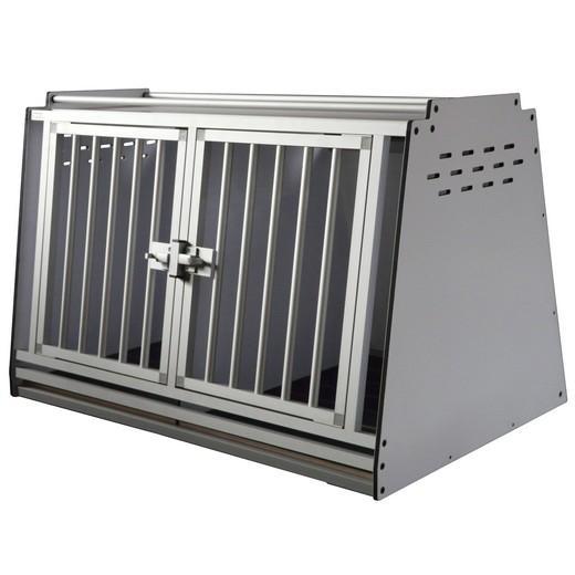equipement de v hicule cynophile cage pour chien sur mesure m tal alluminium. Black Bedroom Furniture Sets. Home Design Ideas