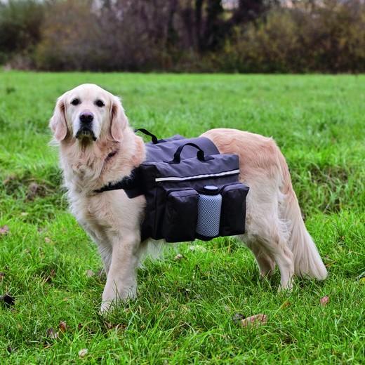 Sacoche de randonn e pour chien sport canin sac et sacoche - Fabriquer un harnais pour chien ...