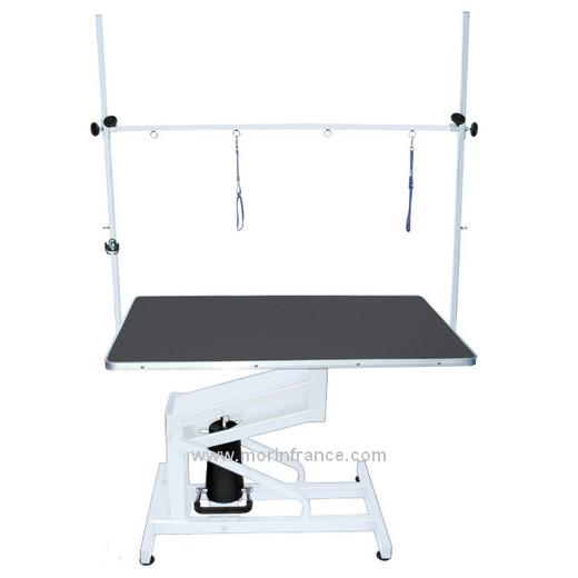 Table de toilettage hydraulique table toilettage pour - Table verin hydraulique ...