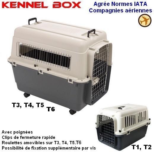 cage de transport kennel box caisse transport vari kennel. Black Bedroom Furniture Sets. Home Design Ideas